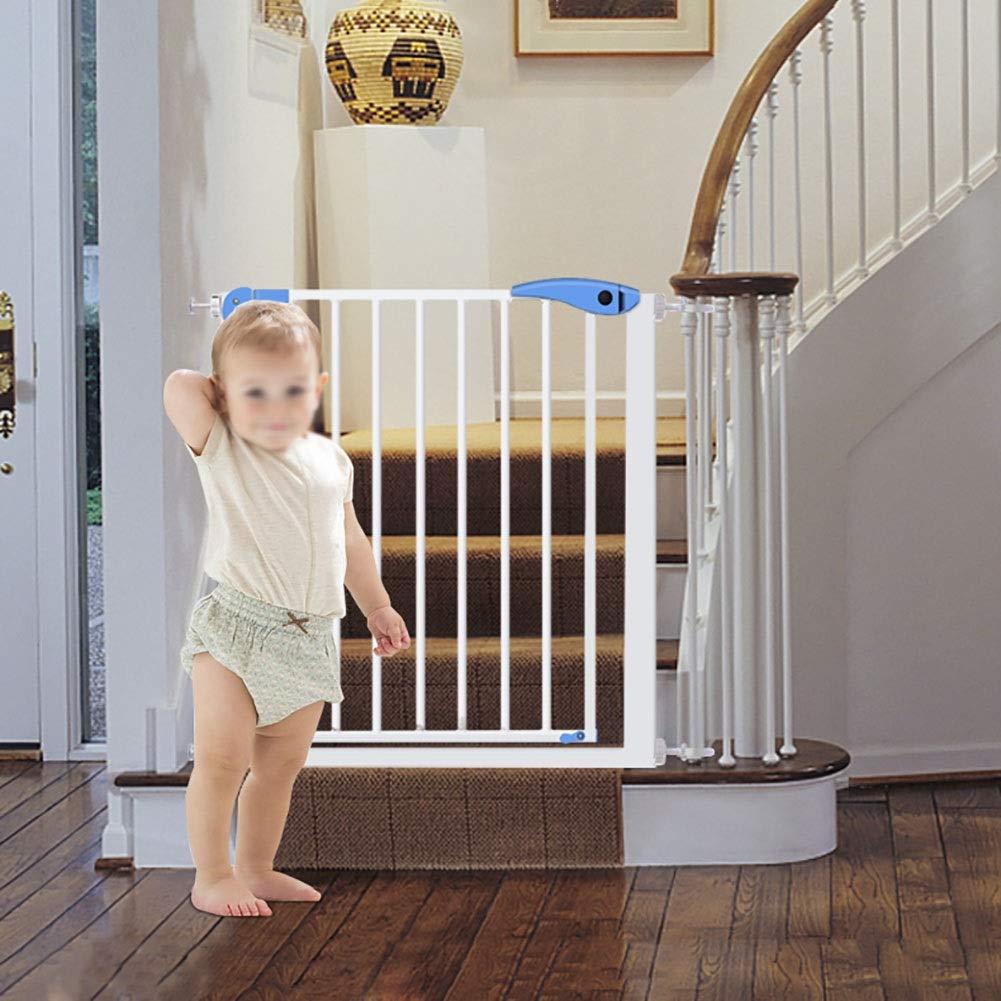 ★お求めやすく価格改定★ ベビーゲート : 階段の手すりが付いている拡張可能な赤ん坊のゲート、戸口のための圧力台紙の通り抜け通路の屋内ペット犬のゲート、白、76 CMの高さ (サイズ CMの高さ さいず 75-82cm) : 75-82cm) 75-82cm B07Q6ML1G9, クマトリチョウ:e07a922e --- a0267596.xsph.ru