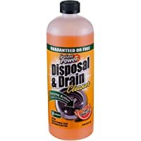 Instant Power 1503 Disposal and Drain Cleaner, Orange Scent, 4 Liter Case