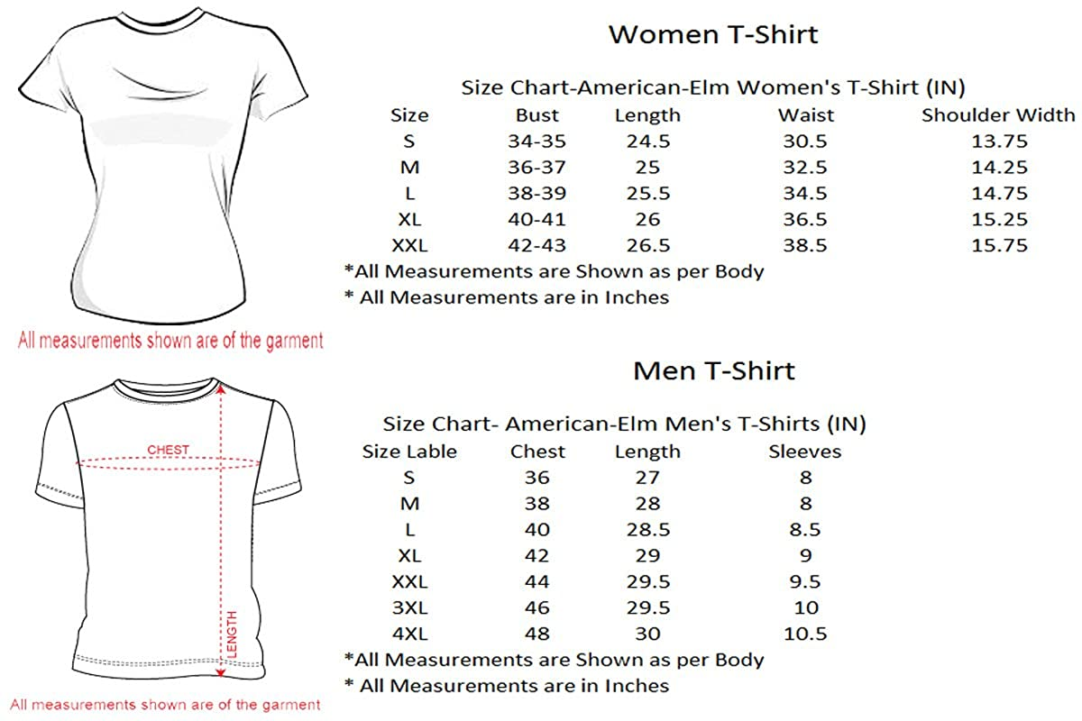 American-Elm King and Queen Card Printed Slim Fit Couple T
