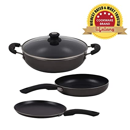 a478a45da33 Buy Lifelong Popular Non-Stick Cookware Set