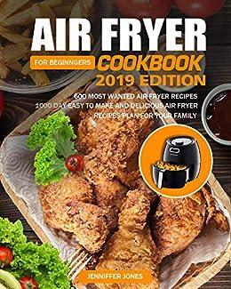 Amazon.com: Air Fryer Cookbook For Beginners #2019: 600