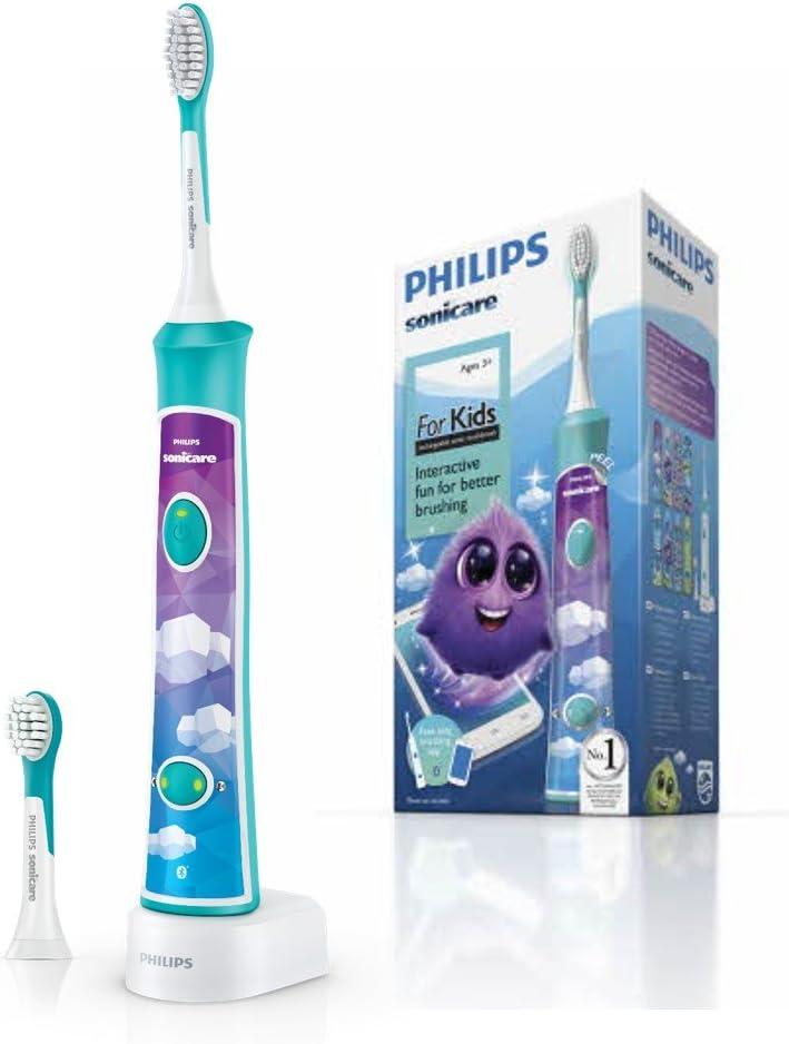 Philips Sonicare For Kids - Cepillo de dientes eléctrico para niños HX6322