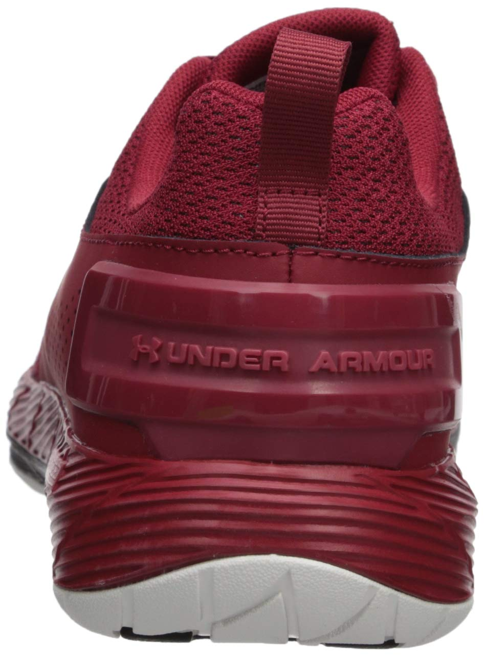 Under Armour Men's Commit TR EX Sneaker, Aruba Red (600)/Black, 7 M US by Under Armour (Image #2)