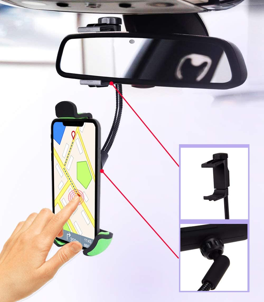 Handyhalterung Auto Rückspiegel Universal Gültig Für Elektronik