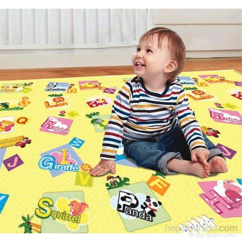 Serra Baby Safari Game Mat Dwinguler 190x130cm, thickness 15mm by Serra Baby
