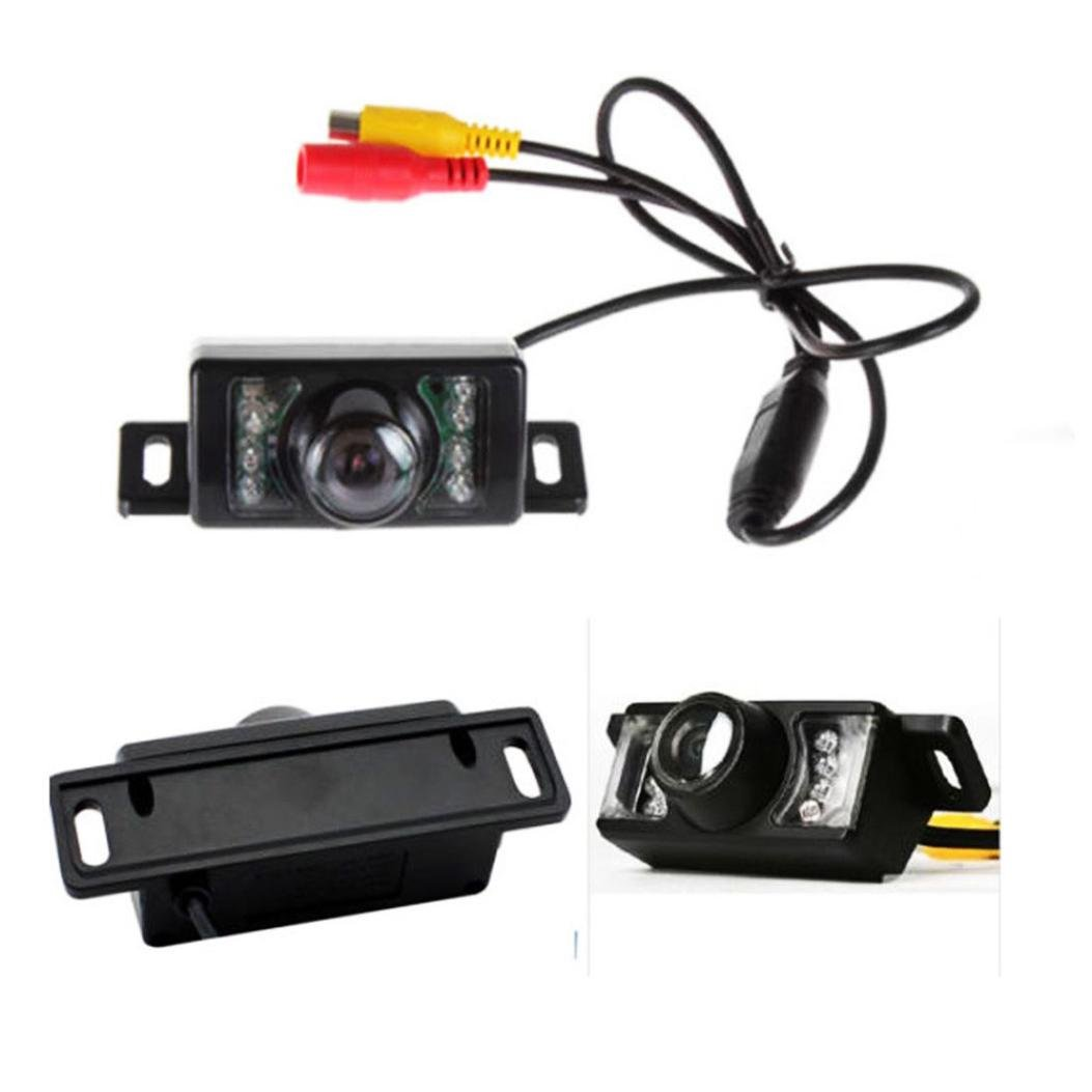 Dacawin Wireless Car Reverse Rear View System Night Vision Backup Camera For Car parking (Black)