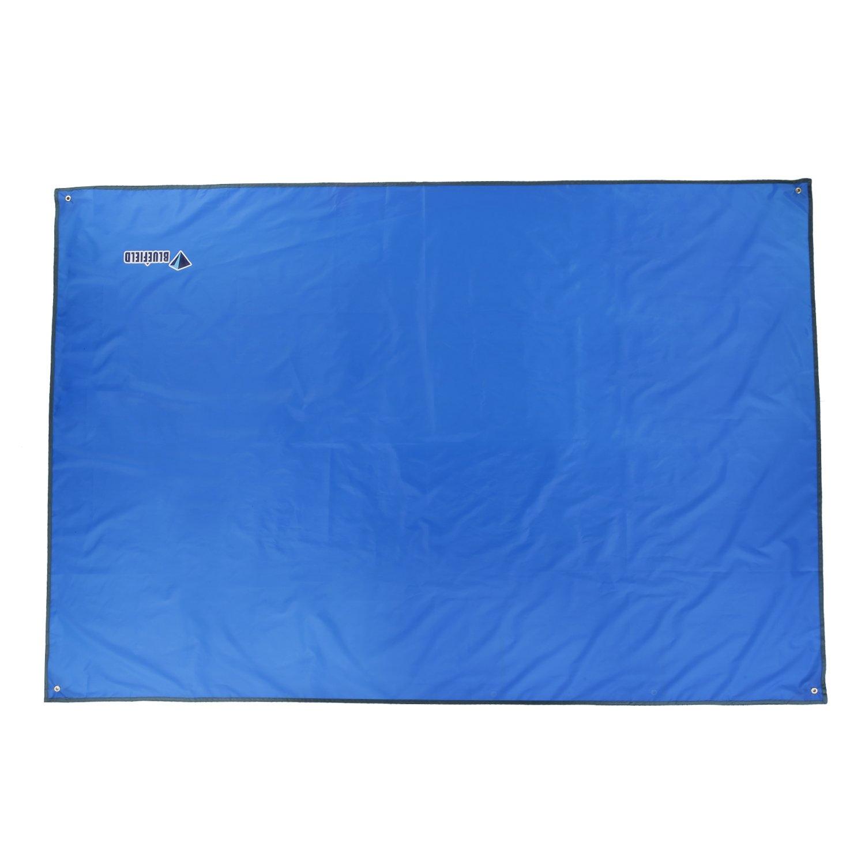 OUTAD Toldo Lona Impermeable para Tienda de Campaña Terraza Manta de Picnic (azul cielo, 240 x 220CM)