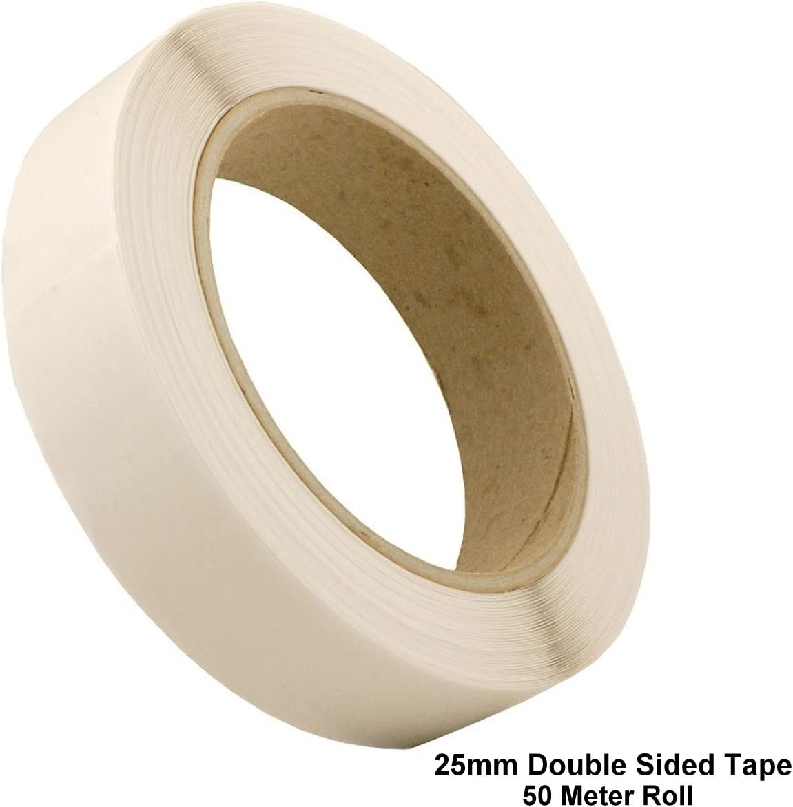 DOUBLE SIDED STICKY TAPE PACK OF 1,2,4 Crafts Adhesive Sellotape White Strong