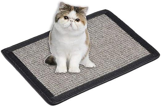 Comtervi - Alfombra rascador para Gatos, de sisal, para Esquinas de Habitaciones, rascadores de Esquina, Gatos, Esquinas de sisal: Amazon.es: Productos para mascotas