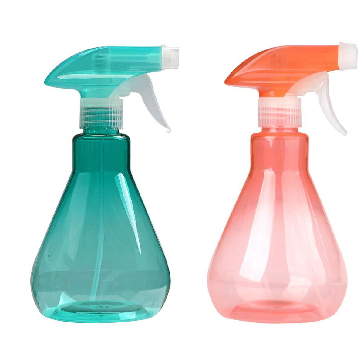 Cymax Botella de Spray vacía de tamaño Grande, 2 Unidades, 500 ml, pulverizador de gatillo Duradero con Modos de Vapor y Flujo para aceites Esenciales, Agua, Cocina, baño y Limpieza