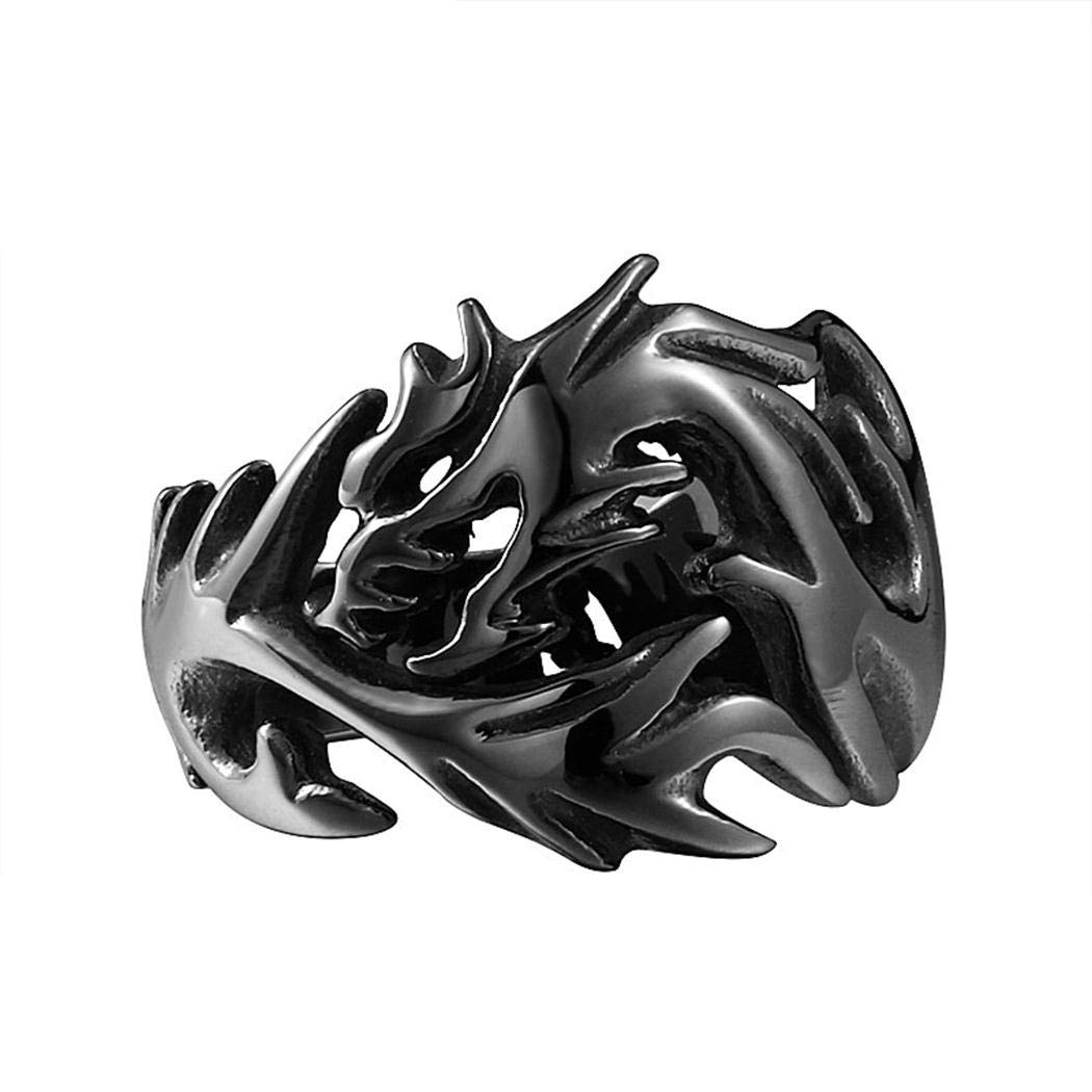 JA Free Stuff Dragon Jewelry Dragon Ring Dragon Stuff Stainless Steel Rings