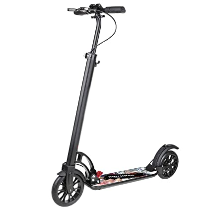 Amazon.com: Besrey Kick Scooter Big Wheel 7.874 in para ...