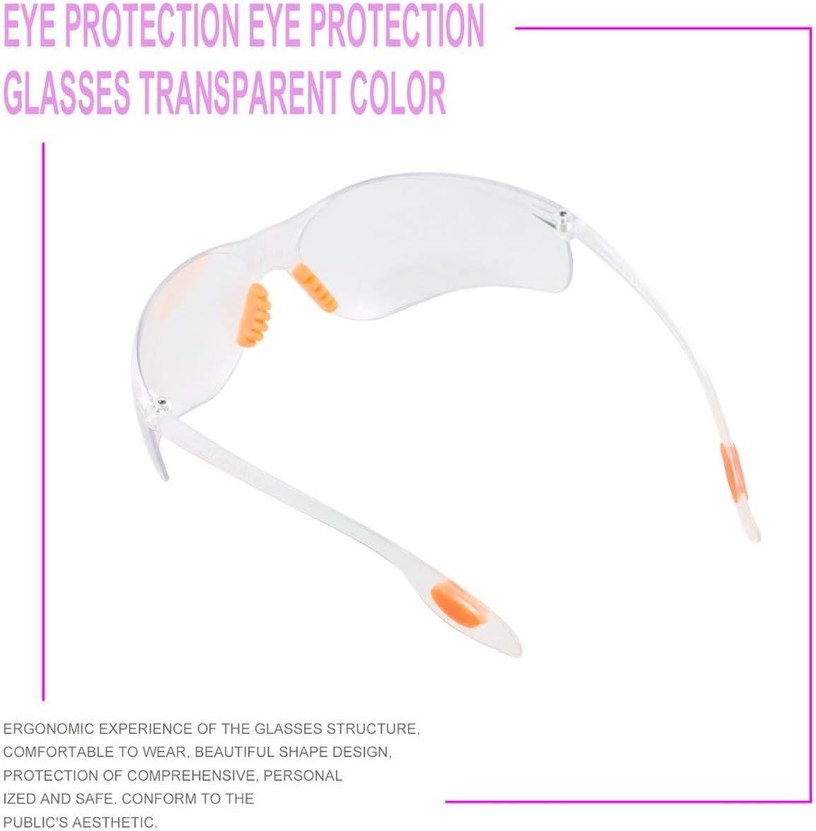 Ballylelly Lunettes de s/écurit/é Lunettes de Protection pour Moto Lunettes Anti-/éclaboussures Anti-/éclaboussures de Laboratoire