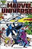 img - for Essential Official Handbook of the Marvel Universe, Vol. 2, Deluxe Edition book / textbook / text book