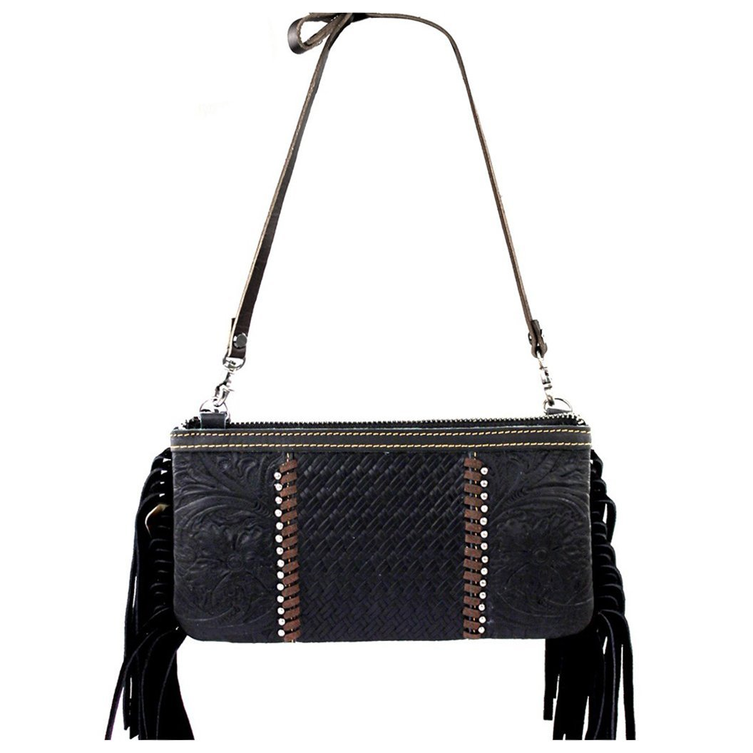 Amazon.com: Bundle de piel embrague bolso w cartera de luz ...