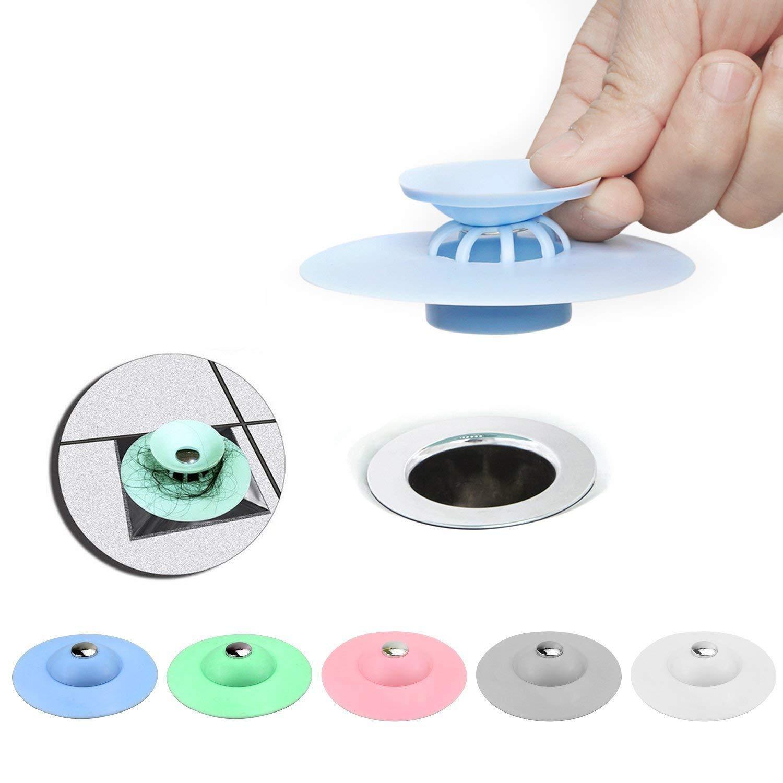 YFMD stopper, multifunzionale scarico Snake Hair Drain Clog Remover strumento di pulizia per vasca lavandino cucina bagno vasca da pavimento da bagno da bambino (pezzi)