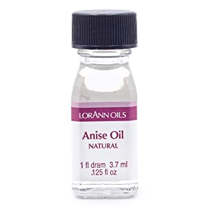 LorAnn Anise Oil Super StrengthNatural Flavor, 1 dram bottle (.0125 fl oz - 3.7ml)