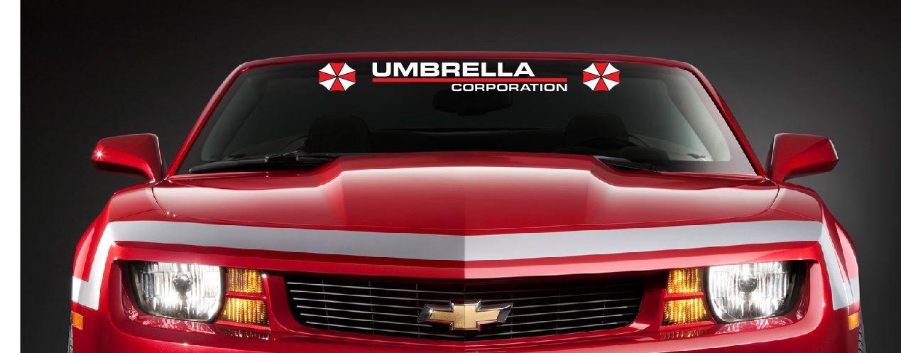 Umbrella Corporation Sticker Decal Aufkleber 315x4 Windshield Racoon Resident Evil Jdm Car Pick Up