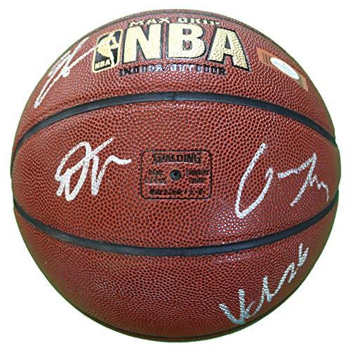 Utah Jazz 2018-19 Team Autographed Signed Spalding NBA Basketball - 10 Autographs - Mitchell Gobert ()