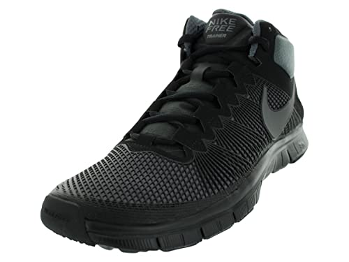 quality design ee392 bce8b Nike Free Trainer 3.0 Mid Mens Size 7.5 Black Sneakers Shoes UK 6.5
