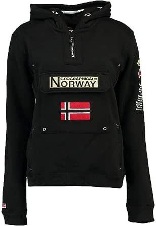 Geographical Norway Sudadera DE Hombre GYMCLASS Negro XXL