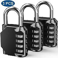 Candados de Combinación al Seguridad, 4 Dígitos