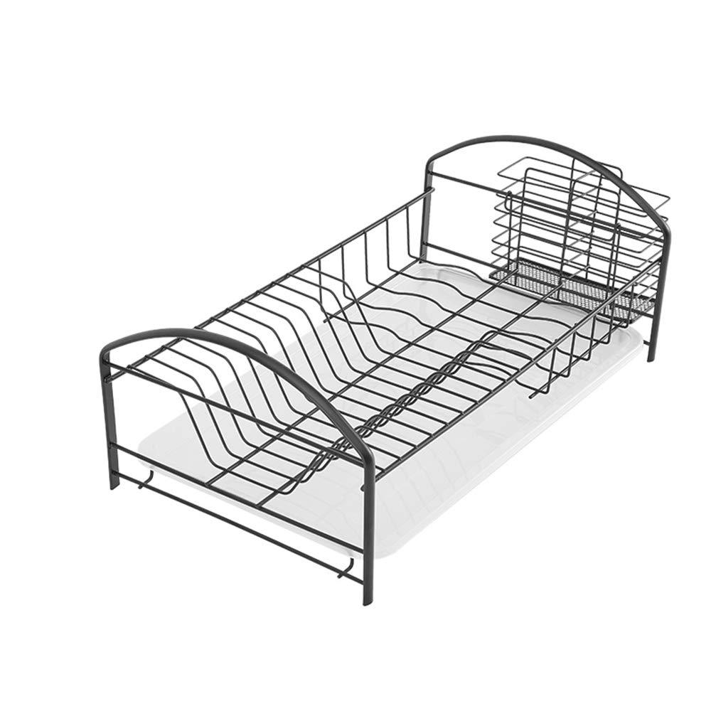 MLQ Drawer Type Stainless Steel Dish Rack Drain Rack, Kitchen Storage Box, High Capacity, for Storage Bowls, Plates, Chopsticks, Spoons, 48.52619Cm