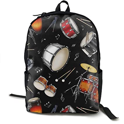 Image Unavailable. Image not available for. Color: Rock Drum Stand.jpg School Backpack ...
