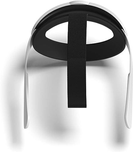 VR Correa Oculus Quest 2 accesorios correa para la cabeza soporte perfecto y comodidad en VR Gaming Pasado Back Pad reemplazo ajustable para la correa Quest 2 Elite