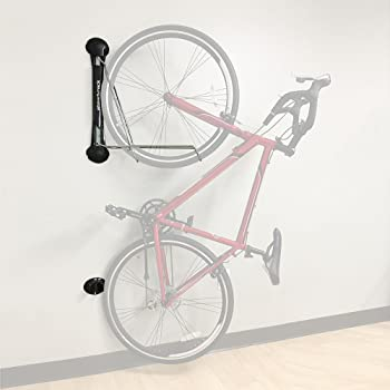 2 Bike Bicycle Vertical Hanger Parking Rack Storage Stand for Garages or Apartme
