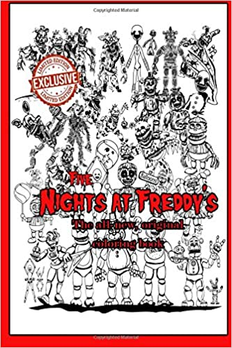 Amazoncom Five Nights At Freddys The All New Original