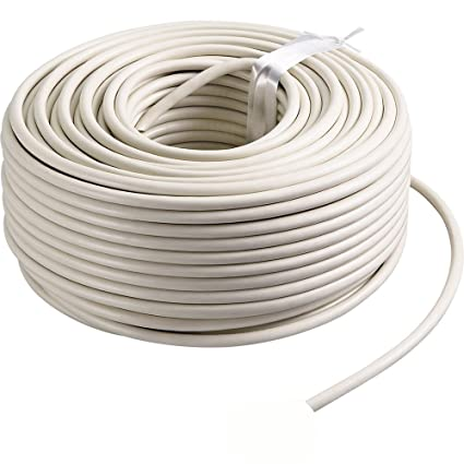 Cable Eléctrico Auto Flexible 1 mm² blanco (10 ...