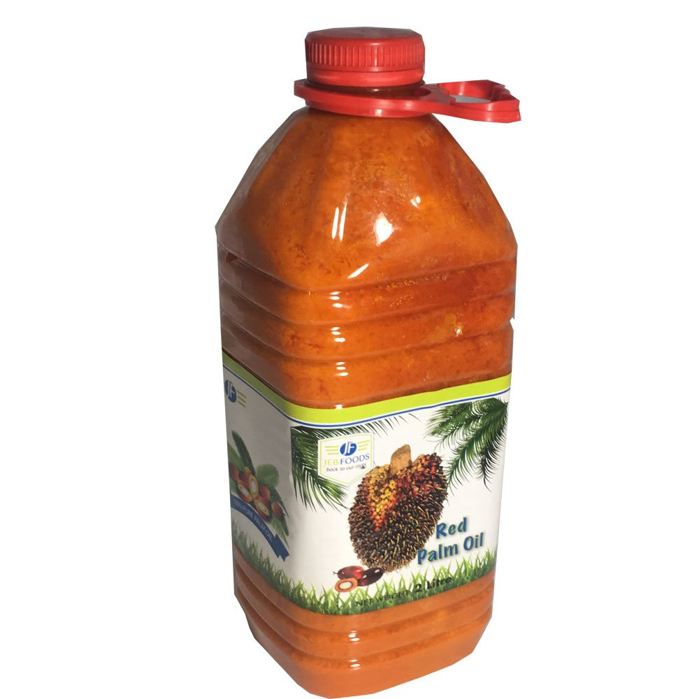 JEB FOODS Africa Red Palm Oil - 2 Litres (67 Fl Oz) by JEB FOODS