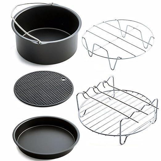 owikar Juego de cesta de freidora del aire del hogar accesorios ...