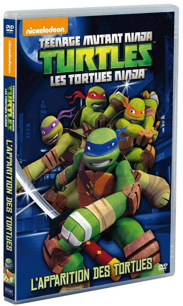 Amazon.com: Les Tortues Ninja - Vol. 1 : Lapparition des ...