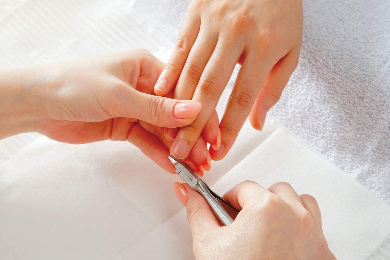 ネイリストが使うニッパー型爪切り