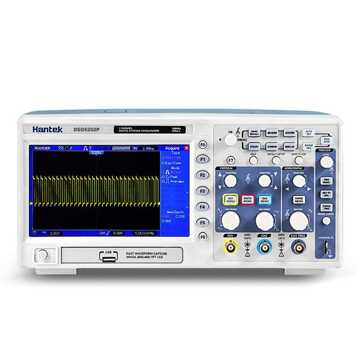 Saikogoods DSO5072PオリジナルUSBデジタルストレージオシロスコープ2つのチャンネルを70MHz 1GS / sのリアルタイムサンプルレートUSBホスト 白 米国 B07M67VYJL 白 米国 白 米国