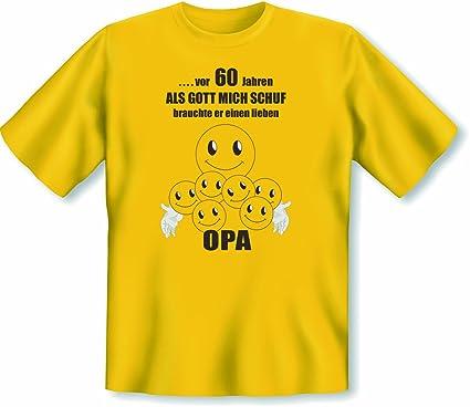 Fur Opa Grandpa Zum 60 Geburtstag Motiv Smiley Sixty Opa 60