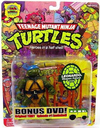 amazon com 25th anniversary teenage mutant ninja turtle leonardo rh amazon com TMNT 25th Anniversary DVD TMNT Happy Birthday
