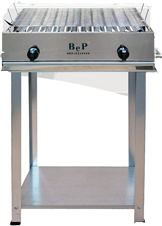Bep - Barbacoa de gas de 100% acero inoxidable, fabricada en ...