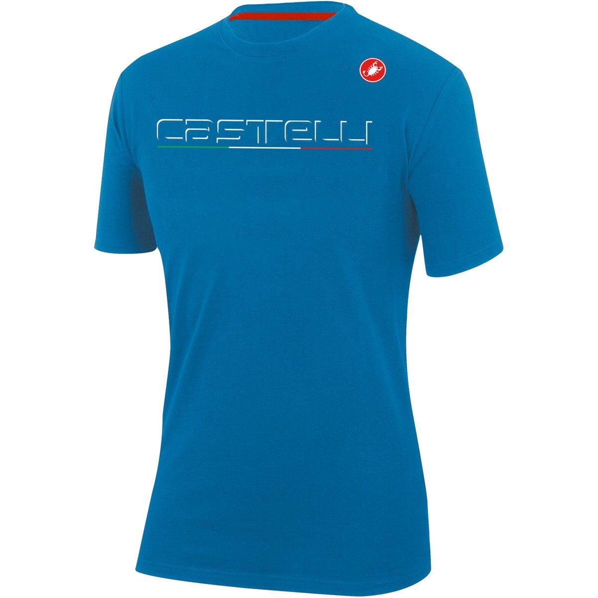 CastelliクラシックTシャツ B079NNCF2L Medium|Drive Blue Drive Blue Medium