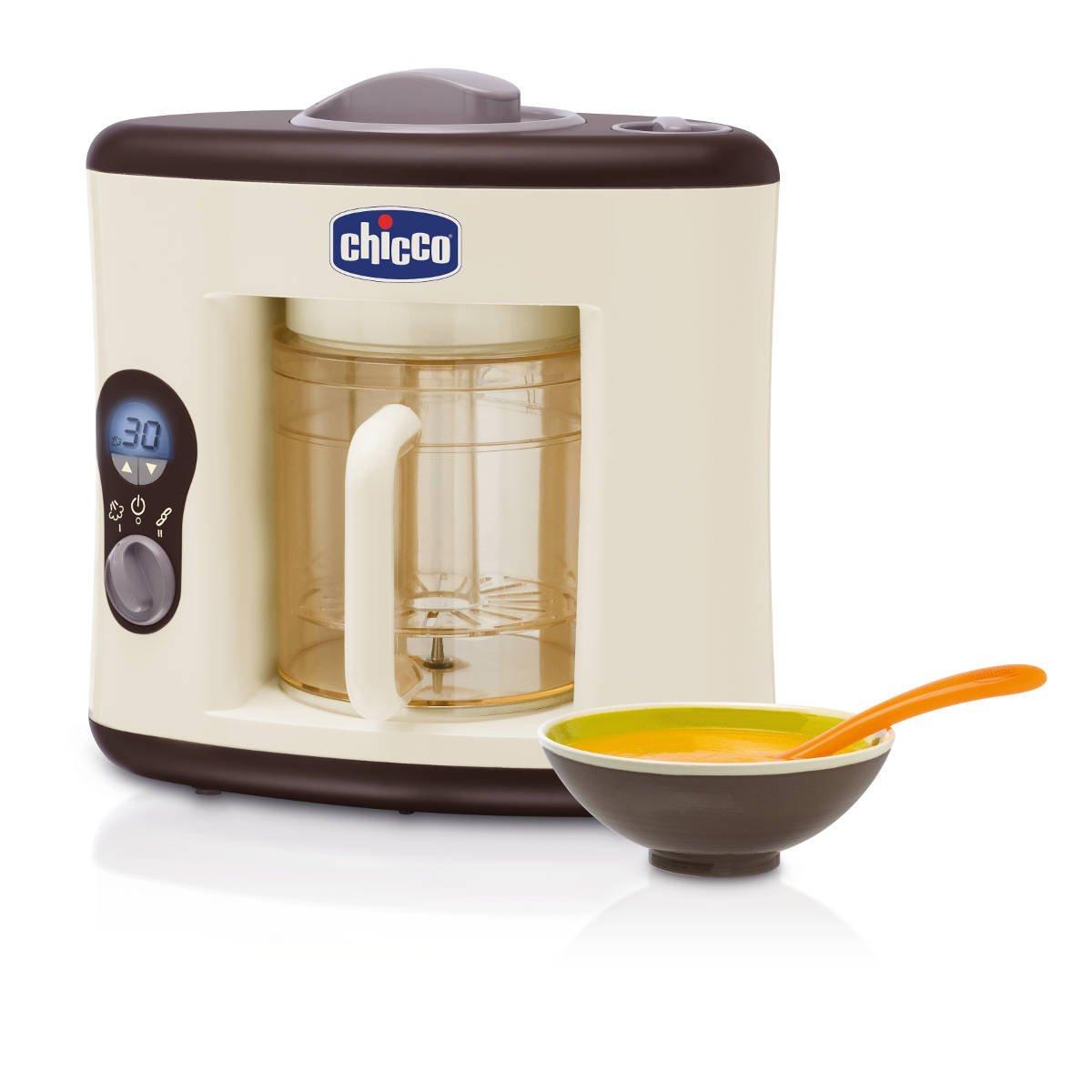 chicco - cuocipappa sanovapore, robot da cucina: amazon.it: prima ... - Cucina Per Bambini Chicco