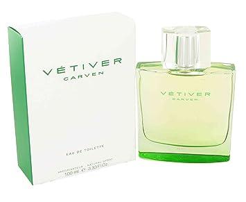 Perfume VETIVER de Carven para Hombres 100ml Colonia!!!: Amazon.es: Hogar