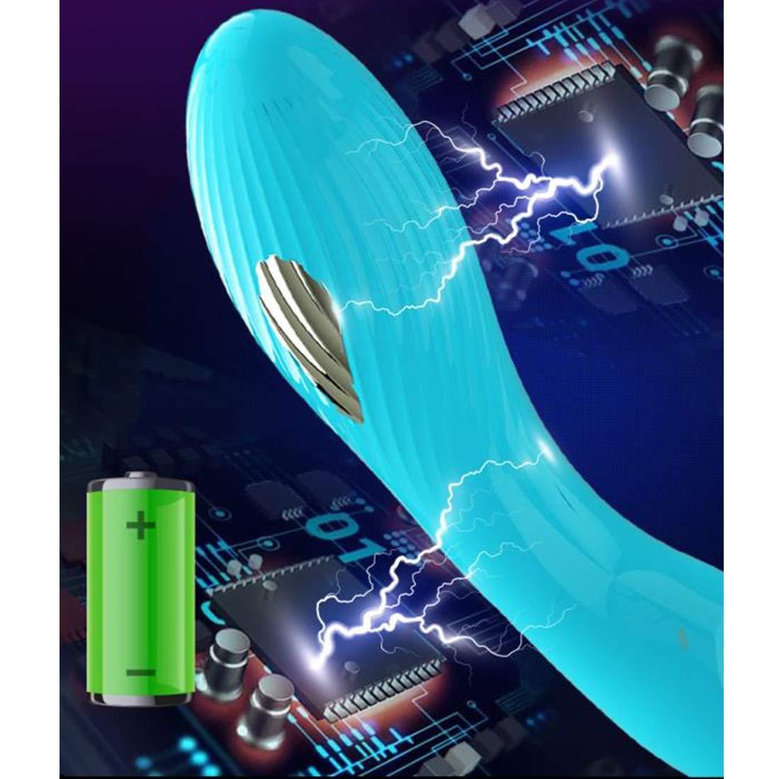 LINANNAV Masturbación Femenina eléctrica vibrador clítoris simulación Juguete consolador Juguete simulación Sexual Varita de Masaje 957599