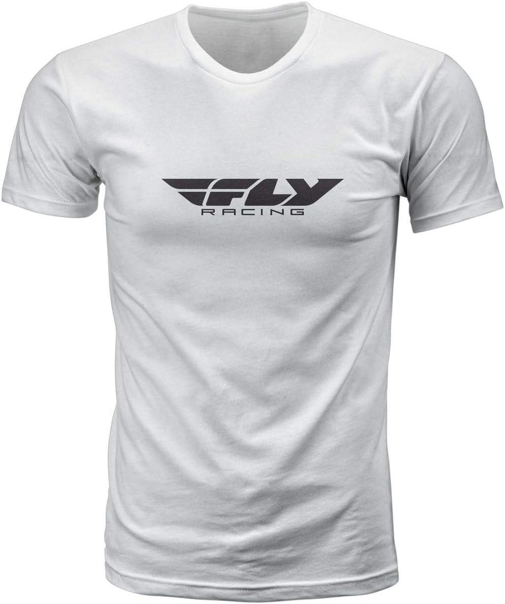 XX-Large Fly Racing Corp T-Shirt Dark Heather Grey