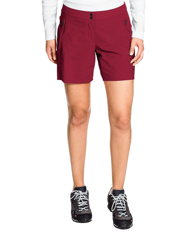 Vaude Damen Scopi Lw Shorts Hose Dark Indian Red 36 VADE5|#VAUDE 085186520360