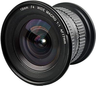 Lente de la cámara Gran Angular Gran Angular de 15 mm F4.0 ...