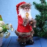 Vanpower Electric Santa Claus Toys Dancing Sing Christmas Decorations(Lamp Old Man)