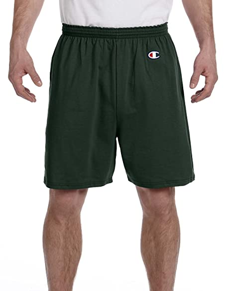 Champion 6.1 oz. Cotton Jersey Shorts 6.1 oz. Cotton Jersey at Amazon Men's  Clothing store: Athletic Shorts