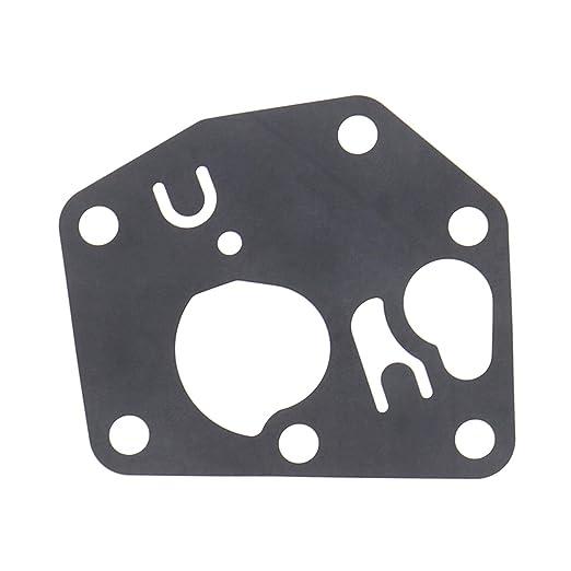 Carburateur Kit doutils de r/éparation de carburateur Joint membrane Ressort de r/égulateur Ampoule Primer 691859 262759 692211 694394